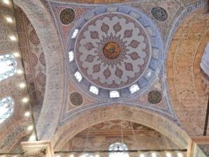 Plafond de la mosquée